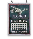 Plough and Harrow-Litlington-sign