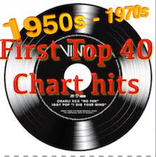 Debut Top 40 Chart Songs (50s/70s)