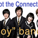 "Spot the Connection – ""BOY"" Bands"
