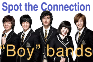"""Spot the Connection – """"BOY"""" Bands"""