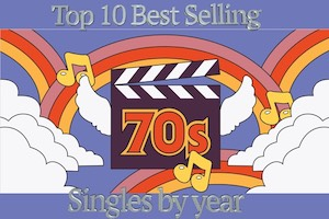Top Selling 70s Hits by Year