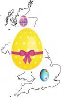 The UK Easter Egg Trail