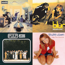 UK Number One Albums of the 90s